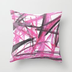 Scribble Throw Pillow