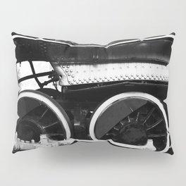 Train Wheels Pillow Sham