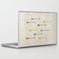 be brave Laptop & iPad Skins featuring BRAVE by Lex Bleile