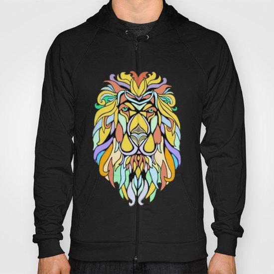 Metallic Lion Hoody