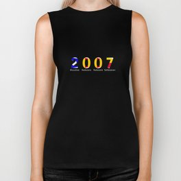 2007 - NAVY - My Year of Birth Biker Tank