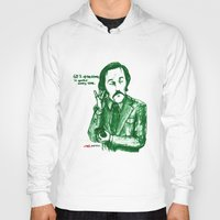 anchorman Hoodies featuring Anchorman: 60% of the Time by Red Misery