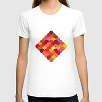 scales T-shirts featuring Red Scales by Lea.I