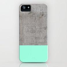 Sea on Concrete iPhone SE Slim Case