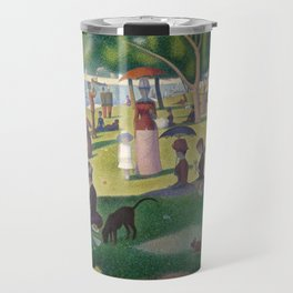 Georges Seurat - A Sunday Afternoon on the Island of La Grande Jatte Travel Mug