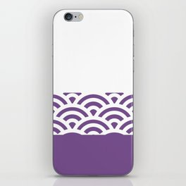 Rainbow Trim Ultraviolet iPhone Skin