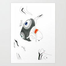 VACANCY Zine - The Great Passive Cosmic Birth Art Print
