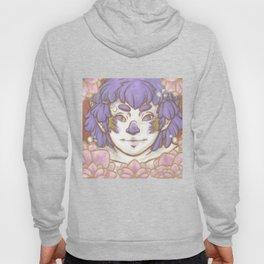 Purple Flower Fairy Hoody