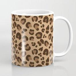 Leopard Print - Tan / Brown Coffee Mug