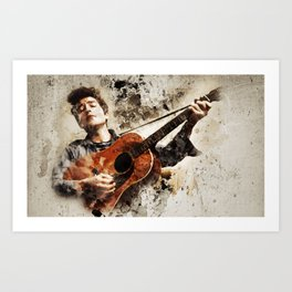 Bob Dylan is Awesome Art Print