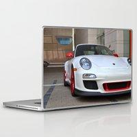 porsche Laptop & iPad Skins featuring Porsche by Nick Nieu