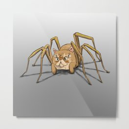 Figaro the Cat-Spider Metal Print