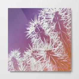 Technicolor Cacti Metal Print