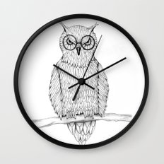 Wise Wall Clock
