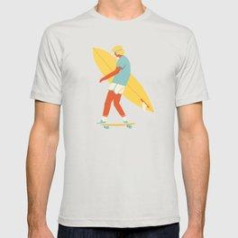 Skater from 70s T-shirt