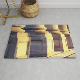 National Capitol Columns Bases Rug