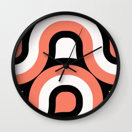 Retro Graphics N1 Wall Clock