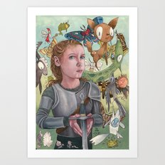 Protecting Your Imagination Art Print