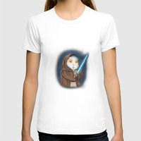 jedi T-shirts featuring Jedi Guinea Pig by When Guinea Pigs Fly