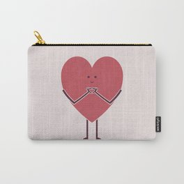 Heart Hands Carry-All Pouch