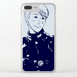 Ranger Viktor Nikiforov Clear iPhone Case