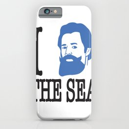 I __ The Sea iPhone Case