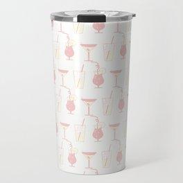 Summer beverage pattern Travel Mug
