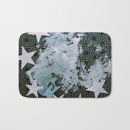 Full Frost Moon Bath Mat