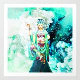 The Goddess of Mercy Art Print