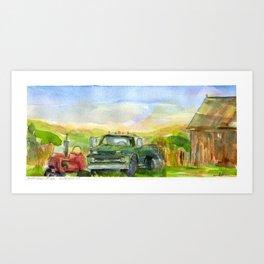 Halladay Farm Art Print