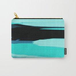 Soft Determination Aquamarine Carry-All Pouch