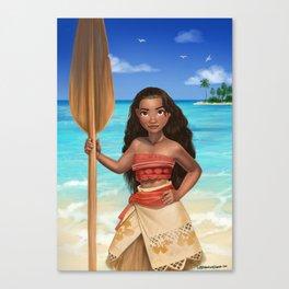I am the Sea Canvas Print