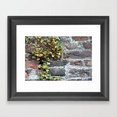 Green wall Framed Art Print