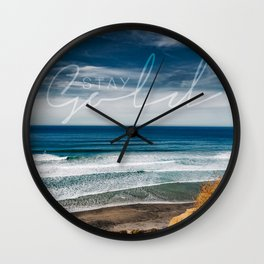 Torrey Pines San Diego Wall Clock