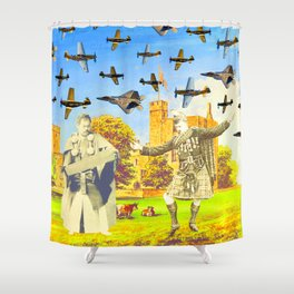 CAN YOU DANCE LIKE ME II (WHILE EVERYBODY'S WATCHING) Shower Curtain