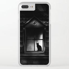 Neighbor's Cat Has A Secret Clear iPhone Case