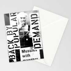 Muscles on Demand (B&W) Stationery Cards