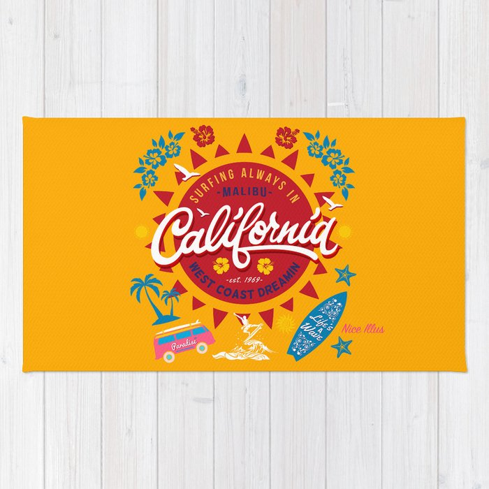 California West Coast Dreamin Rug