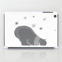 polar bear iPad Cases featuring Polar bear by Better HOME