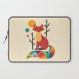 Rainbow Fox Laptop Sleeve