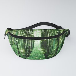 Magical Forest Green Elegance Fanny Pack