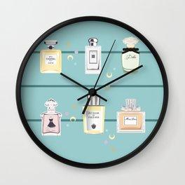 Scent Bottles Wall Clock