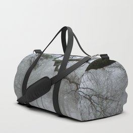 Foggy Forest Cemetery Duffle Bag