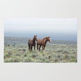 Wild Horses - Steens No. 1 Rug