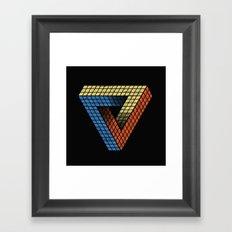 Penrose Puzzle Framed Art Print