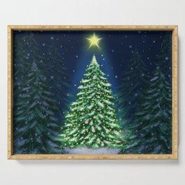 Christmas tree Serving Tray