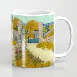 "Vincent van Gogh ""Farmhouse in Provence"" Coffee Mug"
