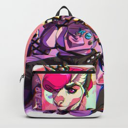 Bear -&- Belle Pastel Goth Backpack