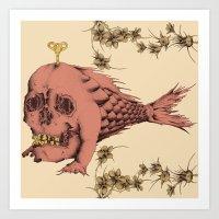 Tinkerfish Art Print