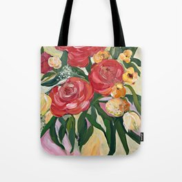 Casual Bouquet Tote Bag
